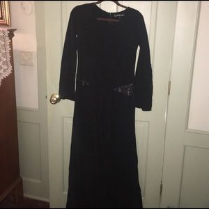 NWOT FOR LOVE & LEMONS WITCHY MAXI DRESS